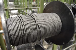 Packing fibers, compression packing