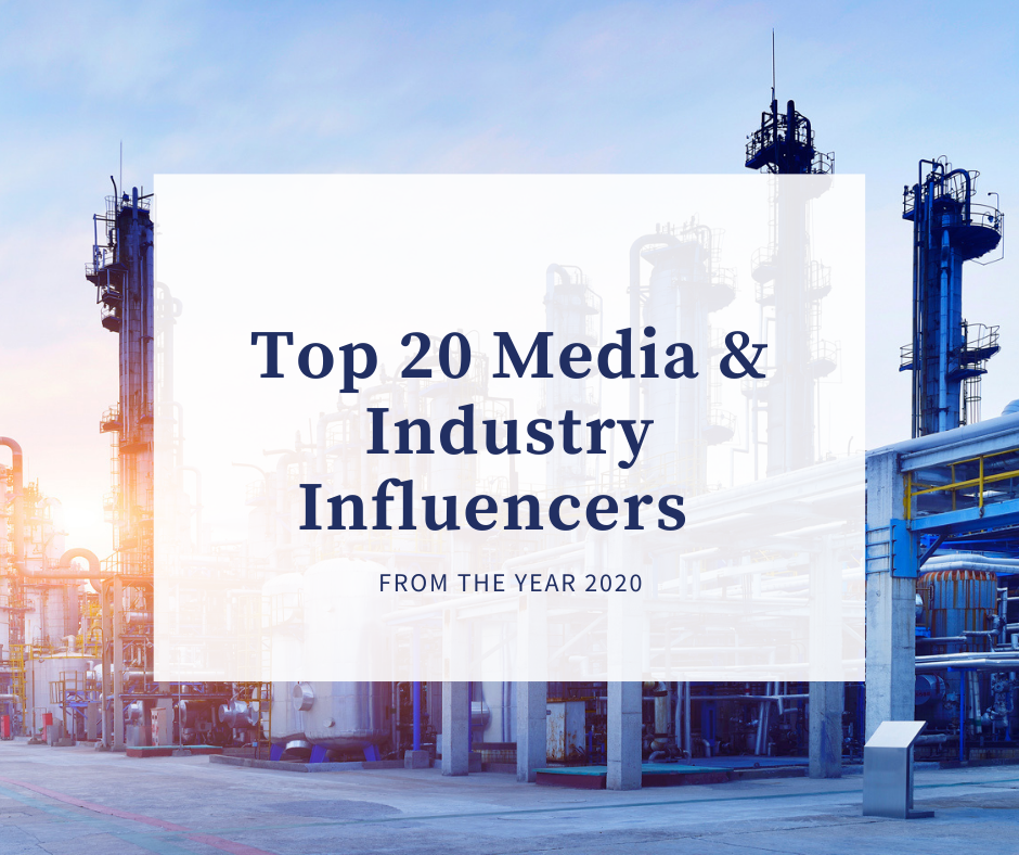 Top 20 Media and Industry Influencers