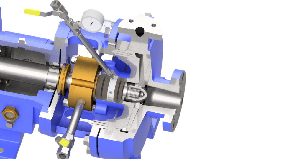 SAS-P seal system for pumps