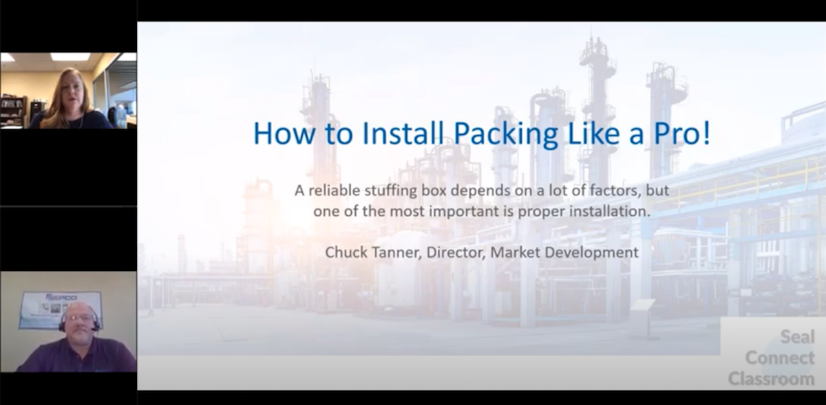 How to Install Packing Webinar
